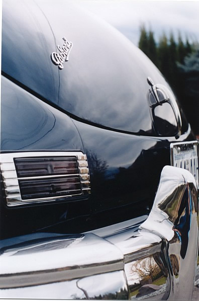 Packard Super Clipper rear tail light.